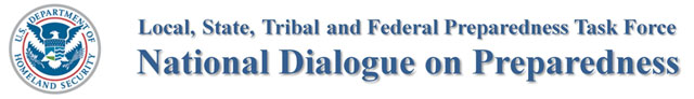 National Dialogue on Preparedness